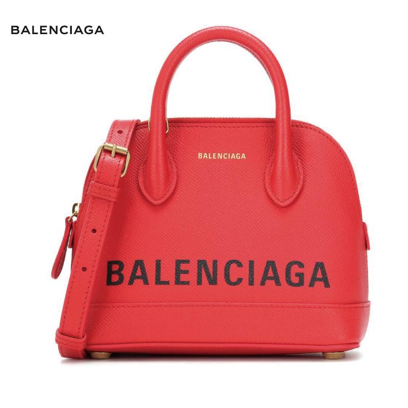 BALENCIAGA バレンシアガ Ville XS leather tote バッグ レッド 2018-2019年秋冬