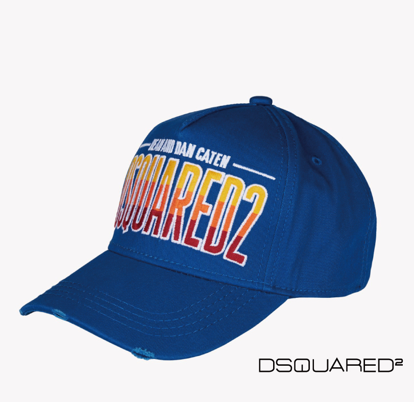Dsquared2 ディースクエアード CAP キャップ ブルー 2015年春夏新作