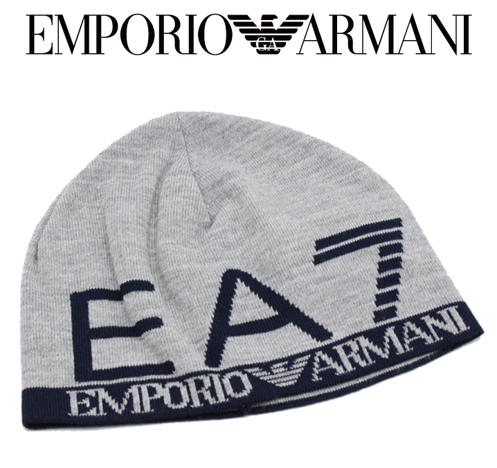 fashionplate  EMPORIO ARMANI Emporio Armani EA7 knit Cap Hat knit ... 234228d6cf2