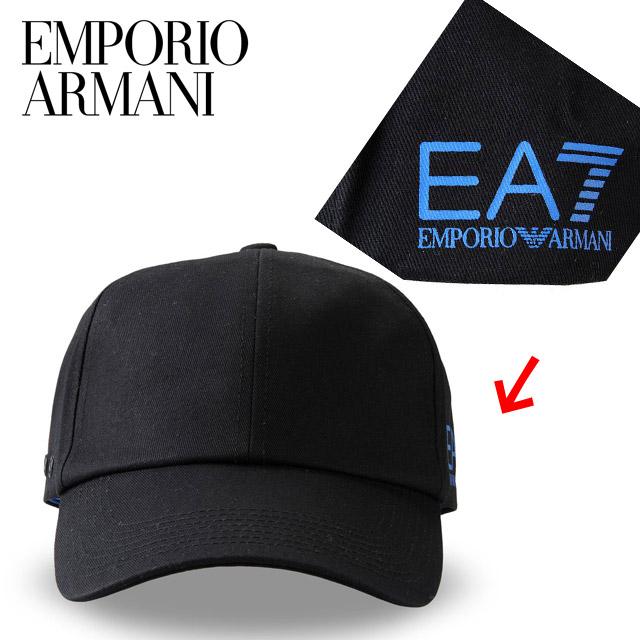 """9c36b903 EMPORIO ARMANI Emporio Armani spring summer new EA7 logo baseball caps  """"275364 4P297"""" ..."""
