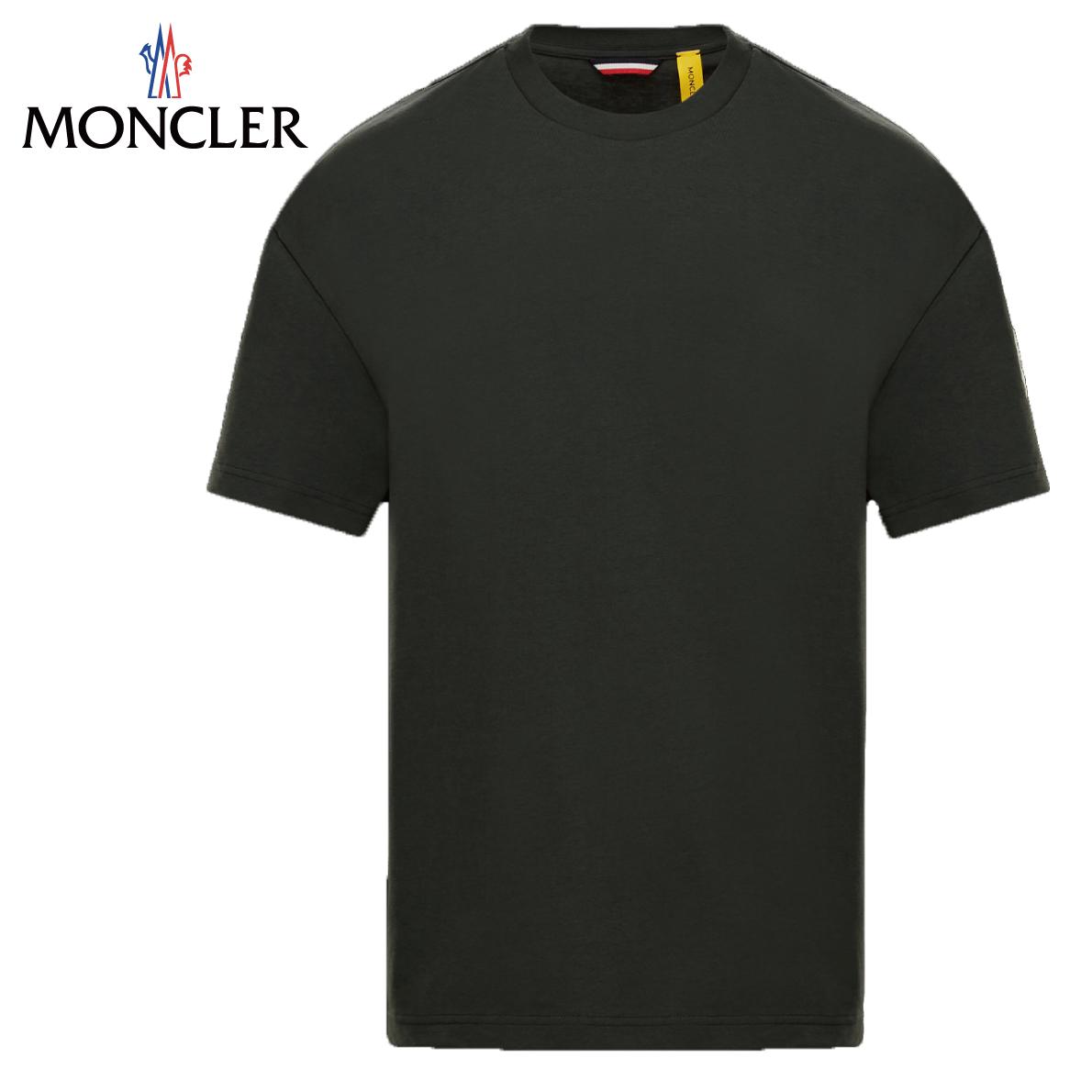 MONCLER 2 MONCLER 1952 T-SHIRT 2020SS モンクレール ブラック メンズ Tシャツ 2020年春夏新作