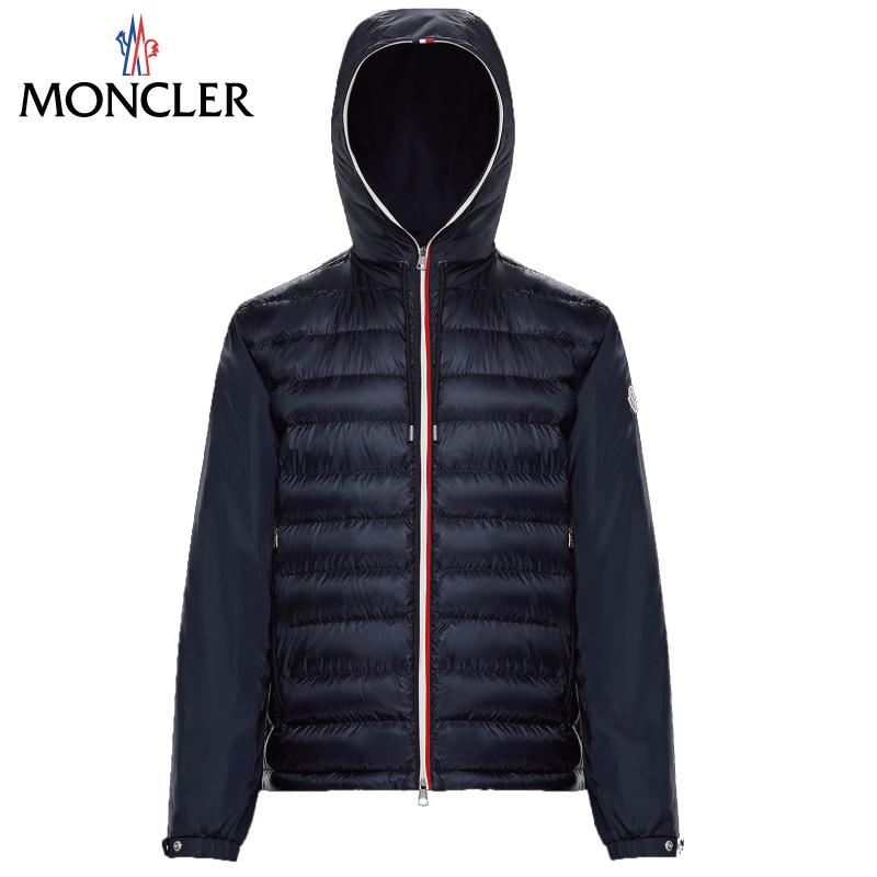 MONCLER モンクレール ALAVOINE ダウンジャケット メンズ Bleu fonce ブルー 2019年春夏