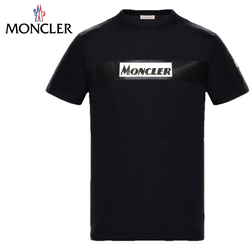 MONCLER モンクレール T-SHIRT Tシャツ Noir ブラック Mens メンズ 2019-2020年秋冬