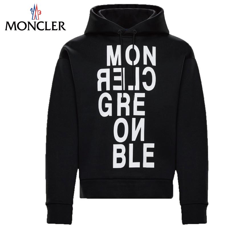 MONCLER モンクレール SWEAT-SHIRT パーカー メンズ ブラック 2019-2020年秋冬 2019AW
