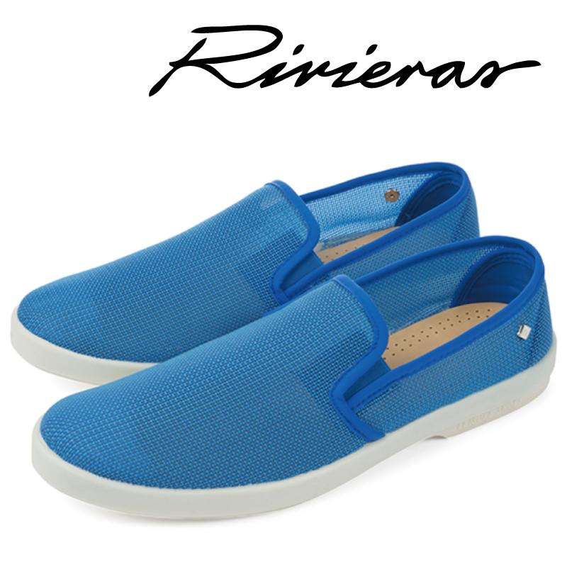 Rivieras リビエラ Recif Bleu ブルー スリッポン メンズ レディース 2019年春夏