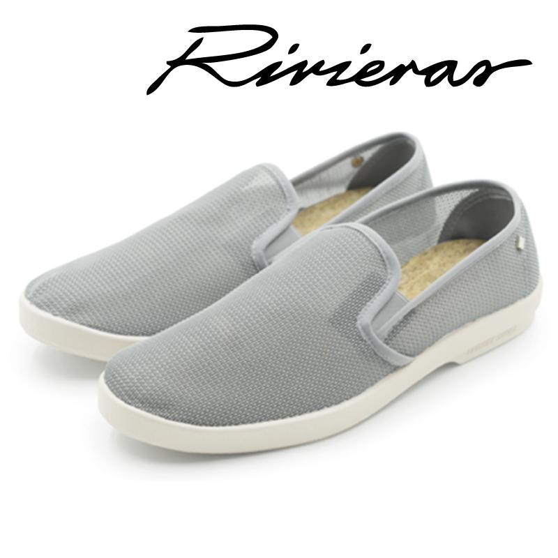 Rivieras リビエラ Recif Gris グレー スリッポン メンズ レディース 2019年春夏