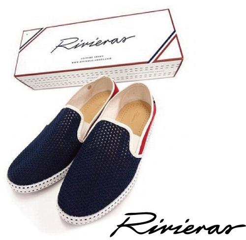 Rivieras リビエラ メンズ シューズ パイピング メッシュスリッポン FRANCE