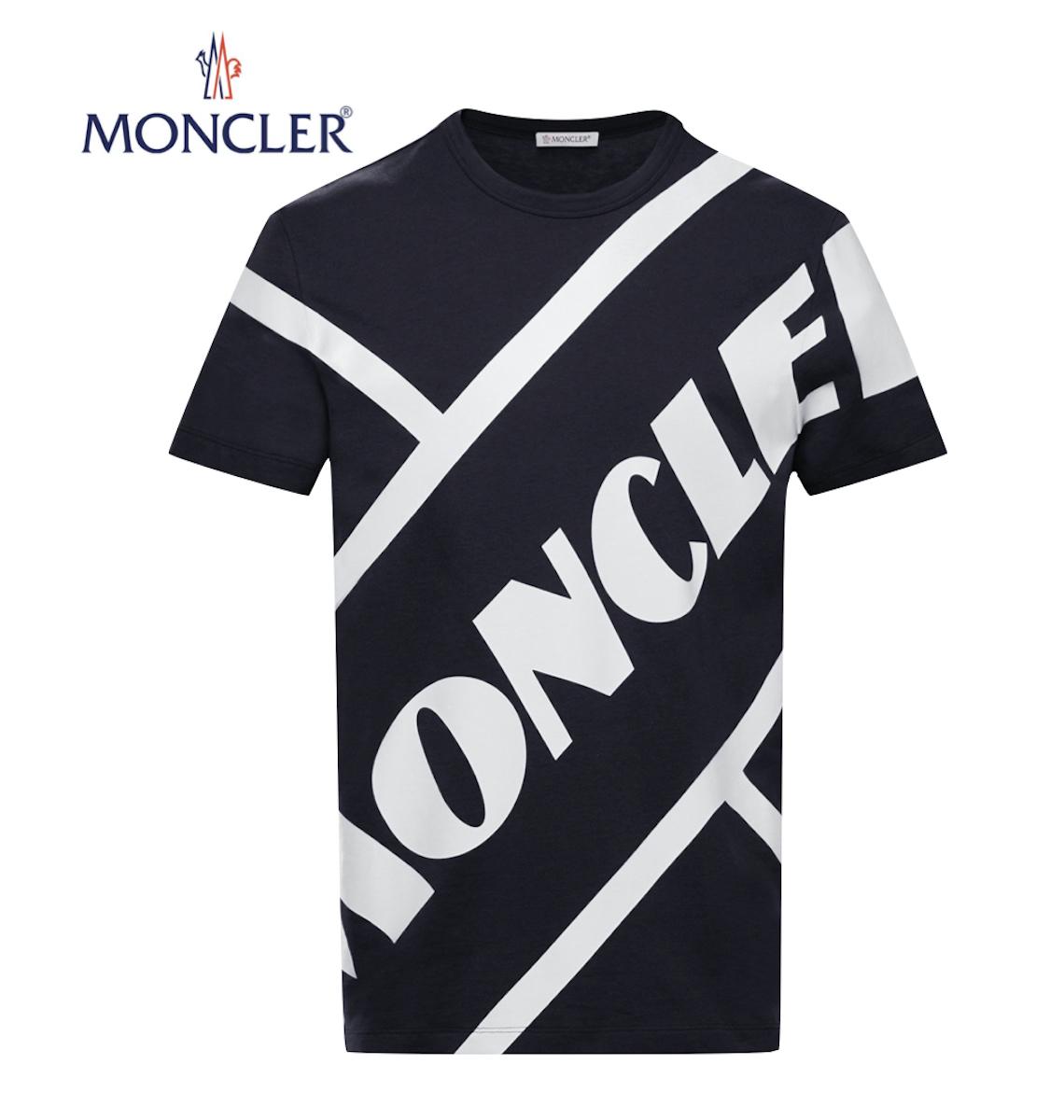 【海外限定・国内未入荷カラー】MONCLER T-shirt Noir Black Mens 2020SS モンクレール Tシャツ ブラック メンズ 2020年春夏新作