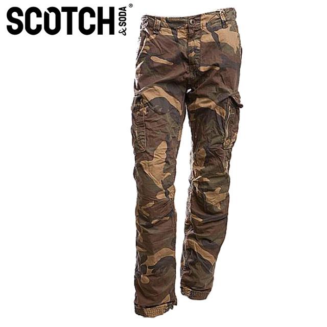【4%OFF!!】【送料無料】[Scotch&Soda]スコッチ&ソーダ 2011年春夏新作 メンズヴィンテージカーゴパンツ