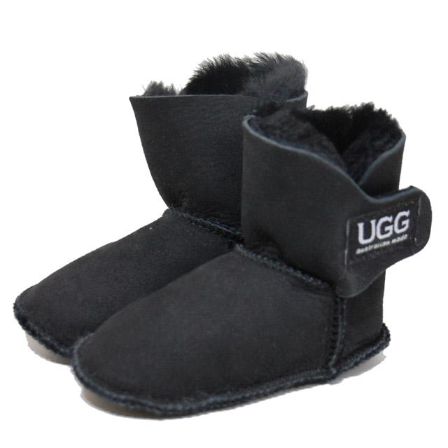 [UGG]アグ ベビー ムートンブーツ ブラック