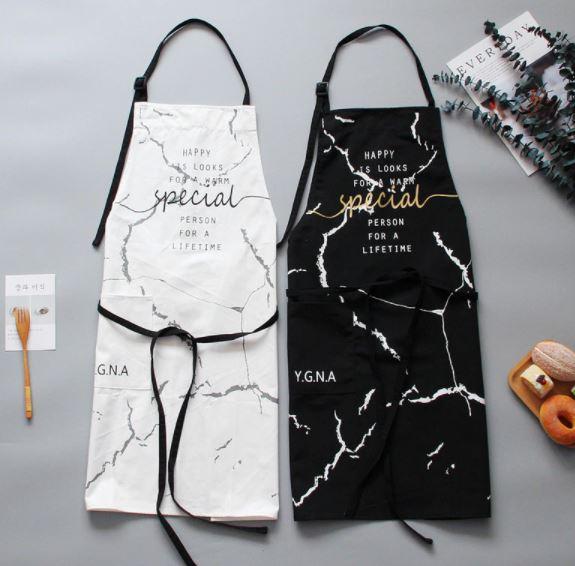 新作 大人気 送料無料 エプロン ロング カフェエプロン レディース おしゃれ かわいい 白 黒 ロゴ 日本メーカー新品 雑貨 グッズ キッチン