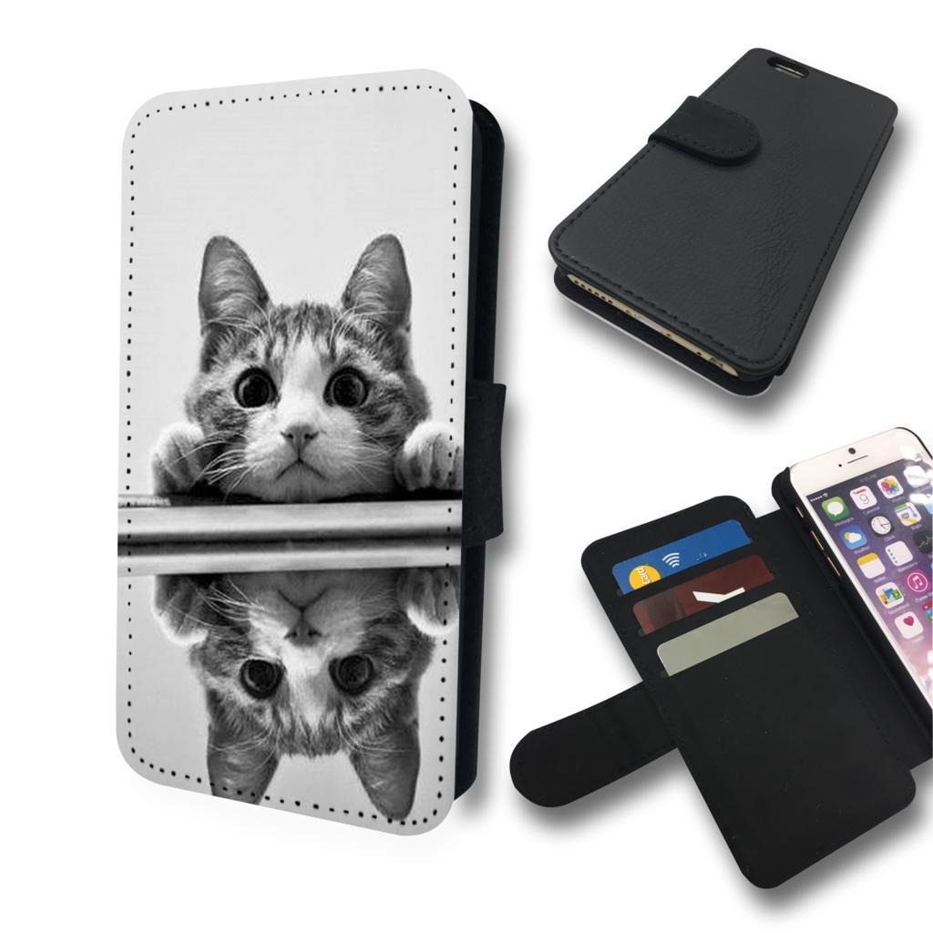 猫好きさんにはたまらないiphone6 s 手帳型ケースです iphone6 手帳型 ケース カバー 猫 スマホケース ネコ かわいい グッズ おしゃれ ユニーク ねこ 個性的 希少 スマホカバー 送料無料 雑貨