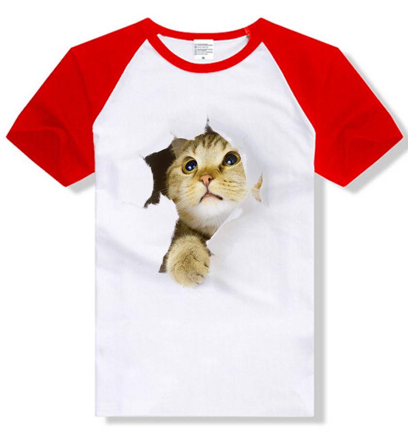 ひょっこり顔をのぞかせる猫Tシャツです 超特価 送料無料 猫 猫柄 Tシャツ メンズ かわいい ねこ グッズ ネコ トップス メーカー直売 ラグラン 雑貨