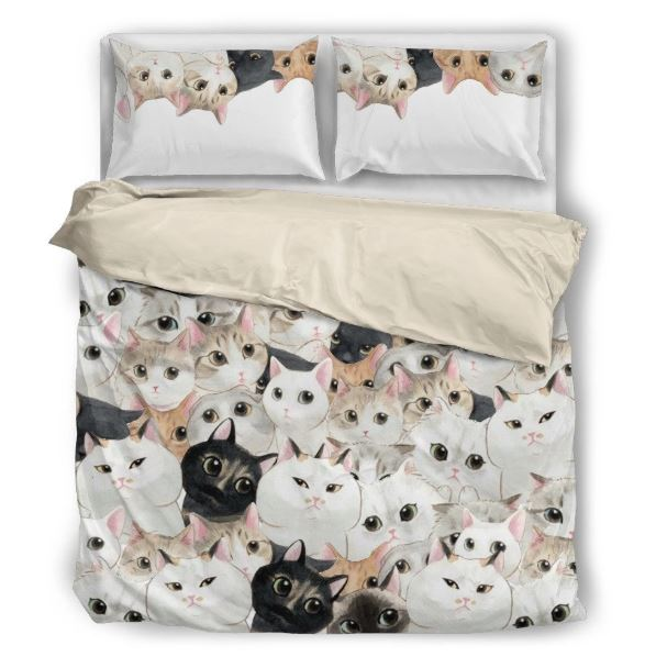 猫 猫柄 かわいい 布団 カバー 枕 クッション ホーム雑貨 ネコ ねこ 雑貨 グッズ