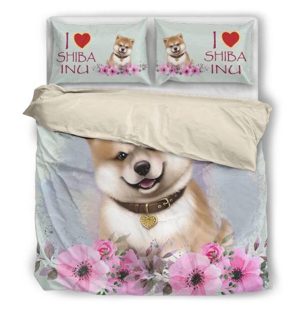 犬 犬柄 柴犬 かわいい 布団 カバー 枕 クッション ホーム雑貨 いぬ イヌ 雑貨 グッズ