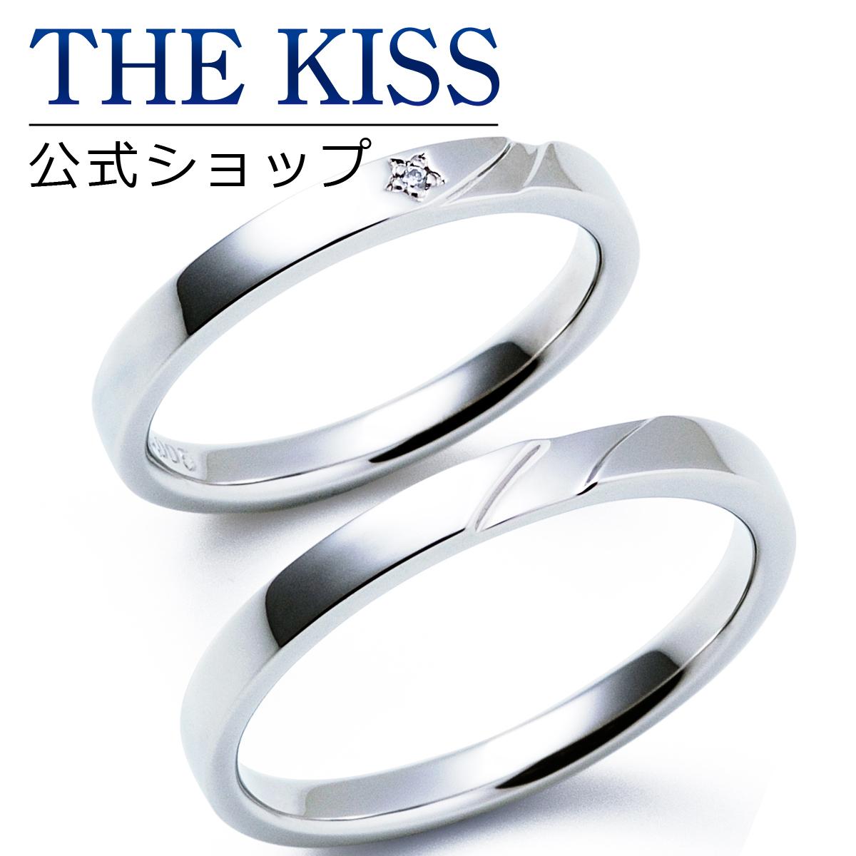 【刻印可_14文字】【THE KISS Anniversary】 プラチナ マリッジ リング 結婚指輪 ペアリング THE KISS リング・指輪 7061122111-7061122112 セット シンプル ザキス 【送料無料】