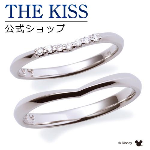 【刻印可_14文字】【ディズニーコレクション】 ディズニー / プラチナ マリッジ リング 結婚指輪 / 隠れミッキーマウス / ペアリング THE KISS リング・指輪 DI-7061104511-7061104521 セット シンプル ザキス 【送料無料】