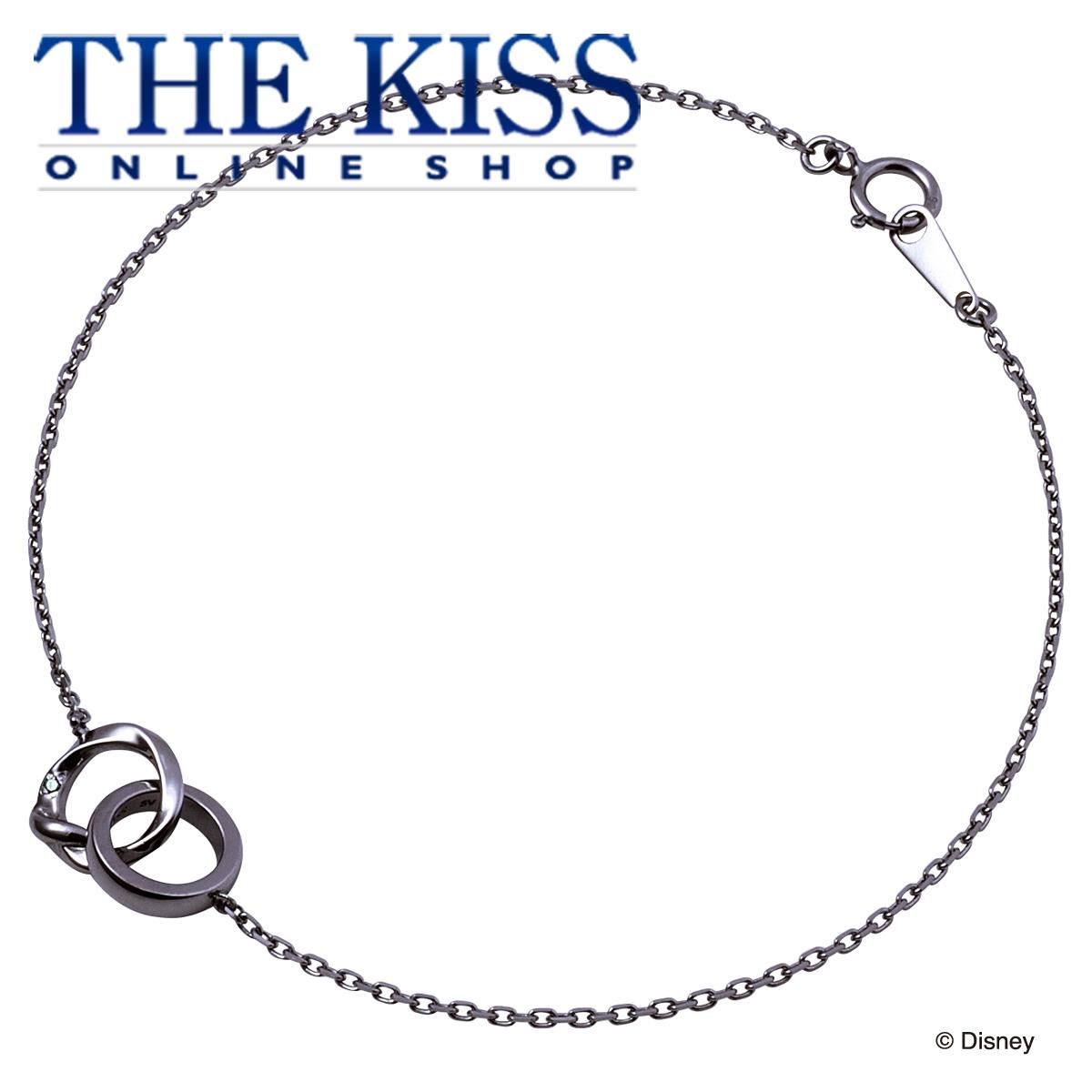 【あす楽対応】【ディズニーコレクション】 ディズニー / ブレスレット / ディズニープリンセス ラプンツェル / THE KISS ペア ブレスレット シルバー (メンズ 単品) DI-SBR6015CB ザキス 【送料無料】