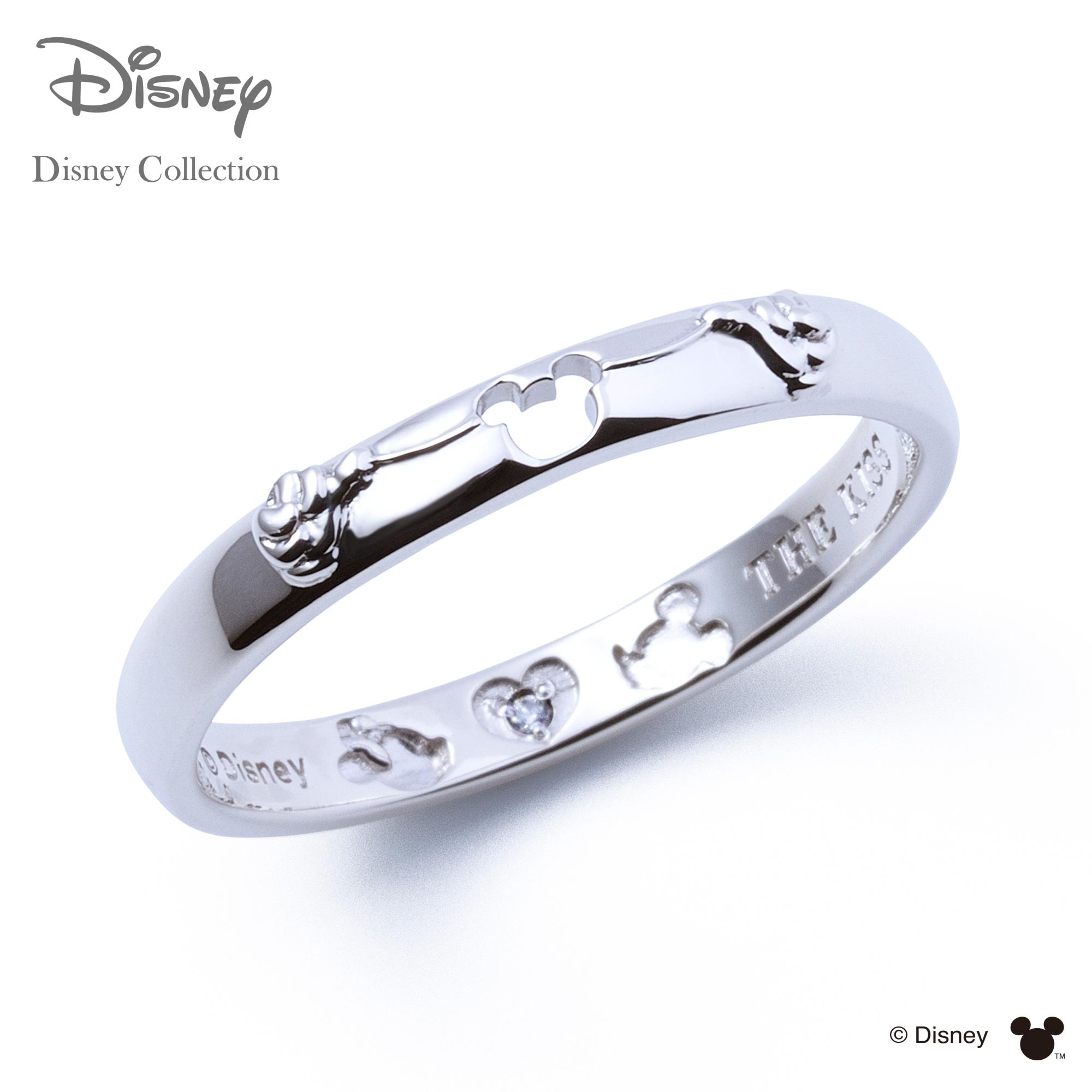 【あす楽対応】【ディズニーコレクション】 ディズニー / ペアリング / ミッキーマウス & ミニーマウス / THE KISS リング・指輪 シルバー (メンズ 単品) DI-SR1834DM ザキス 【送料無料】【Disneyzone】