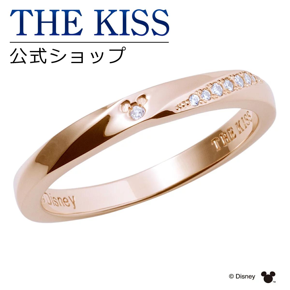 【あす楽対応】【ディズニーコレクション】 ディズニー / ペアリング / 隠れミッキーマウス / THE KISS リング・指輪 シルバー (レディース 単品) DI-SR2406DM ザキス 【送料無料】