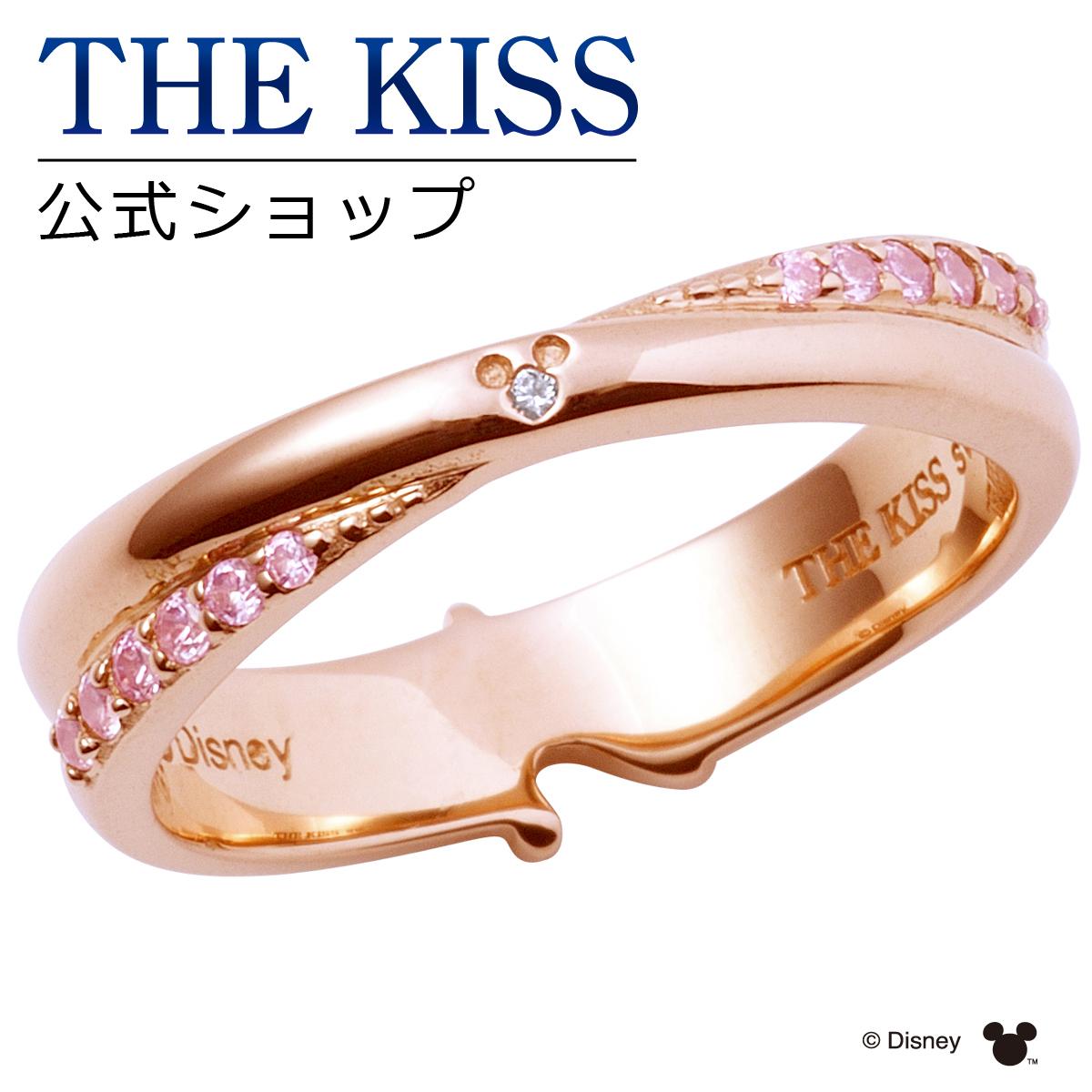 【あす楽対応】【ディズニーコレクション】 ディズニー / ペアリング / ミッキーマウス & ミニーマウス / THE KISS リング・指輪 シルバー (レディース 単品) DI-SR6021DM ザキス 【送料無料】