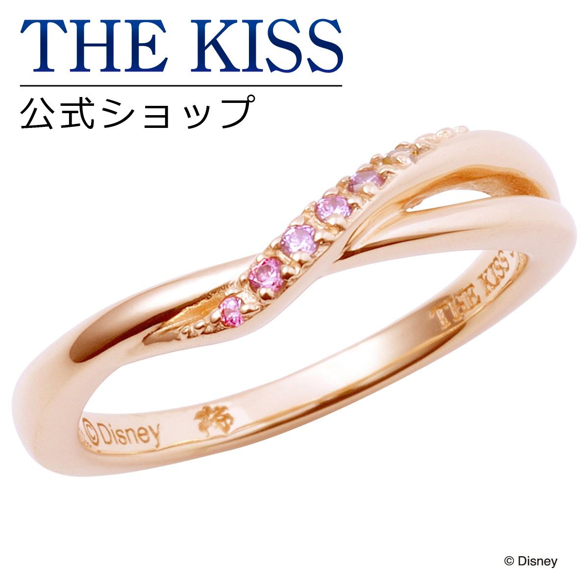 【あす楽対応】【ディズニーコレクション】 ディズニー / ペアリング / ディズニープリンセス ラプンツェル / THE KISS リング・指輪 シルバー (レディース 単品) DI-SR6025CB ザキス 【送料無料】