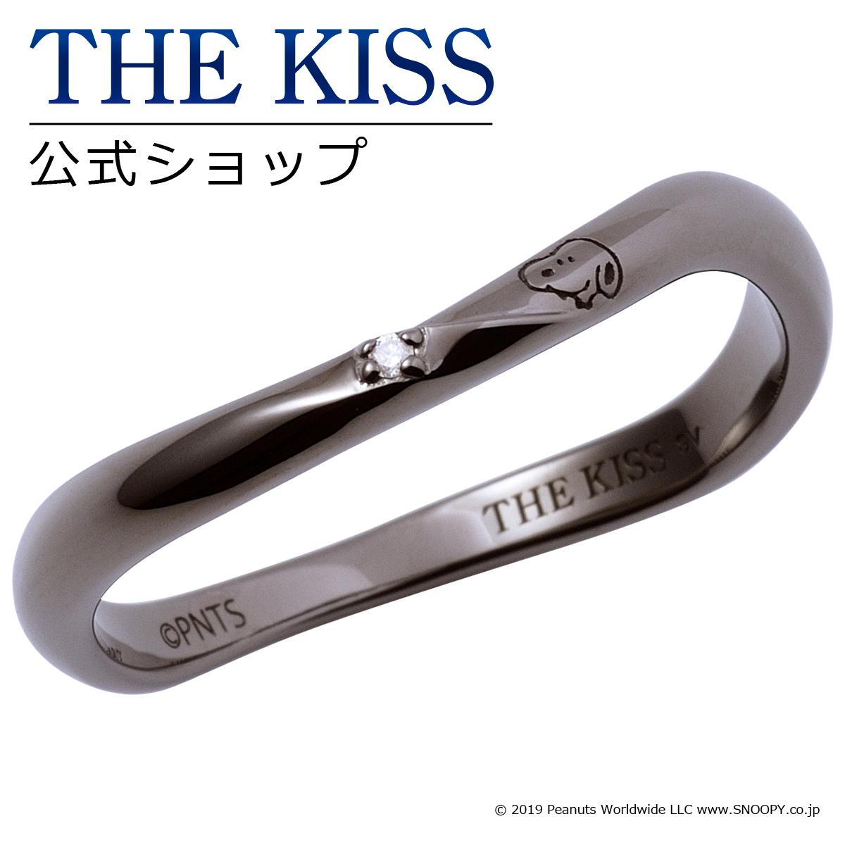 【あす楽対応】【PEANUTS×THE KISSコラボ】PEANUTS スヌーピー / THE KISS 公式サイト シルバー ペアリング ( メンズ 単品 ) ペアアクセサリー カップル に 人気 の ジュエリーブランド THEKISS ペア リング・指輪 記念日 プレゼントPN-SR505DM ザキス 【送料無料】