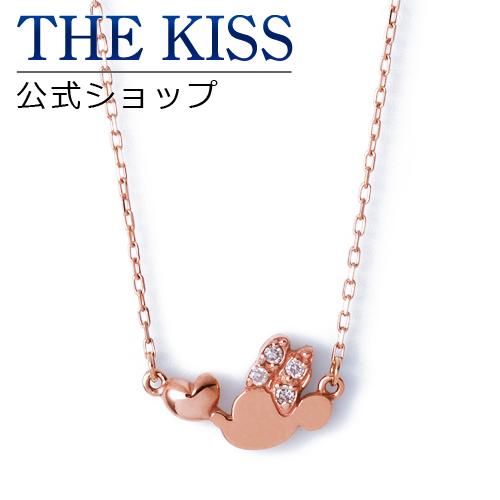【あす楽対応】【ディズニーコレクション】 ディズニー / ネックレス / ミニーマウス / THE KISS ネックレス・ペンダント K10 ピンクゴールド ダイヤモンド (レディース) DI-PN2700DM ザキス 【送料無料】【Disneyzone】