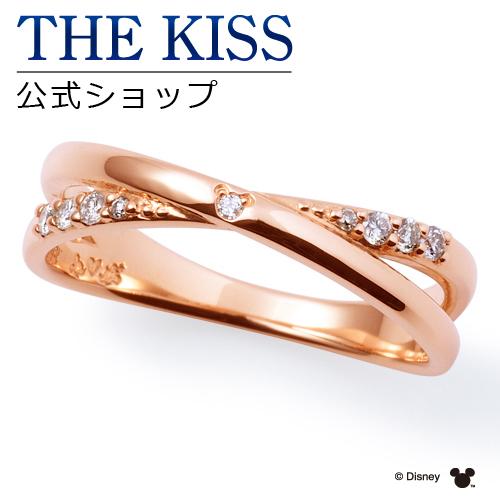【あす楽対応】【ディズニーコレクション】 ディズニー / ペアリング / 隠れミッキーマウス / THE KISS sweets リング・指輪 K10ピンクゴールド ダイヤモンド (レディース 単品) DI-PR1808DM ザキス 【送料無料】