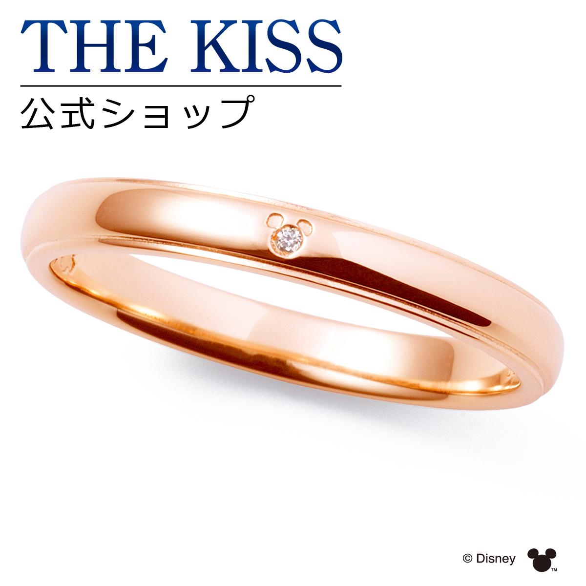 【あす楽対応】【ディズニーコレクション】 ディズニー / ペアリング / 隠れミッキーマウス / THE KISS sweets リング・指輪 K10ピンクゴールド ダイヤモンド (レディース 単品) DI-PR2702DM ザキス 【送料無料】【Disneyzone】