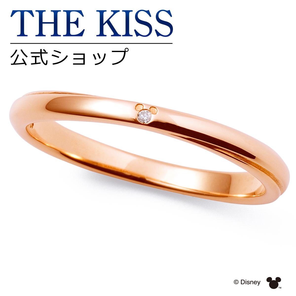 【あす楽対応】【ディズニーコレクション】 ディズニー / ペアリング / 隠れミッキーマウス / THE KISS sweets リング・指輪 K10ピンクゴールド ダイヤモンド (レディース 単品) DI-PR2704DM ザキス 【送料無料】