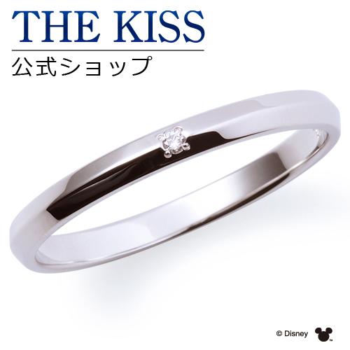 【あす楽対応】【ディズニーコレクション】 ディズニー / ペアリング / 隠れミッキーマウス / THE KISS sweets リング・指輪 K10ホワイトゴールド ダイヤモンド (メンズ 単品) DI-WR1811DM ザキス 【送料無料】