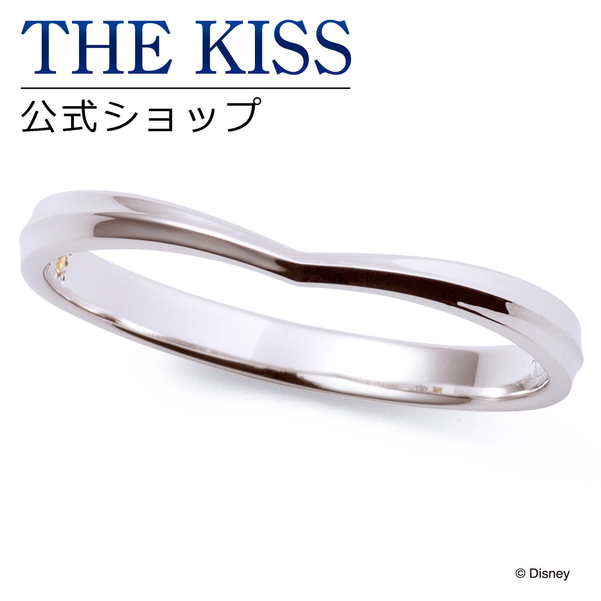 【あす楽対応】【ディズニーコレクション】 ディズニー / ペアリング / ディズニープリンセス ベル / THE KISS sweets リング・指輪 K10ホワイトゴールド (メンズ 単品) DI-WR2701YSP ザキス 【送料無料】【Disneyzone】