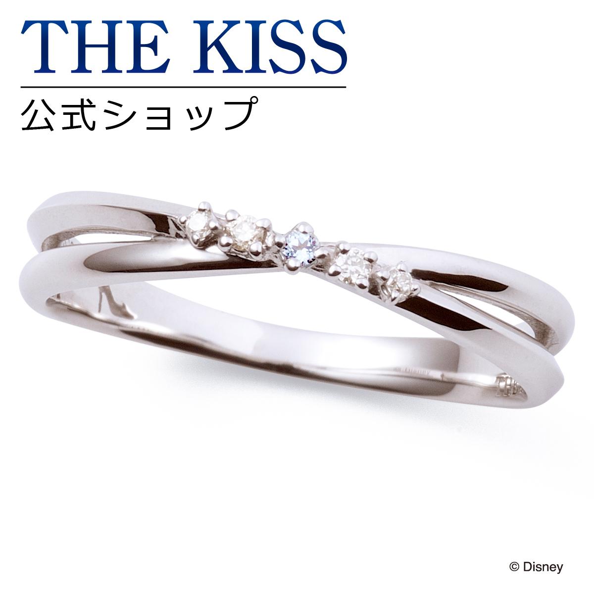 【あす楽対応】【ディズニーコレクション】 ディズニー / ペアリング / ディズニープリンセス シンデレラ / THE KISS sweets リング・指輪 K10ホワイトゴールド ダイヤモンド (レディース 単品) DI-WR2919DM ザキス 【送料無料】