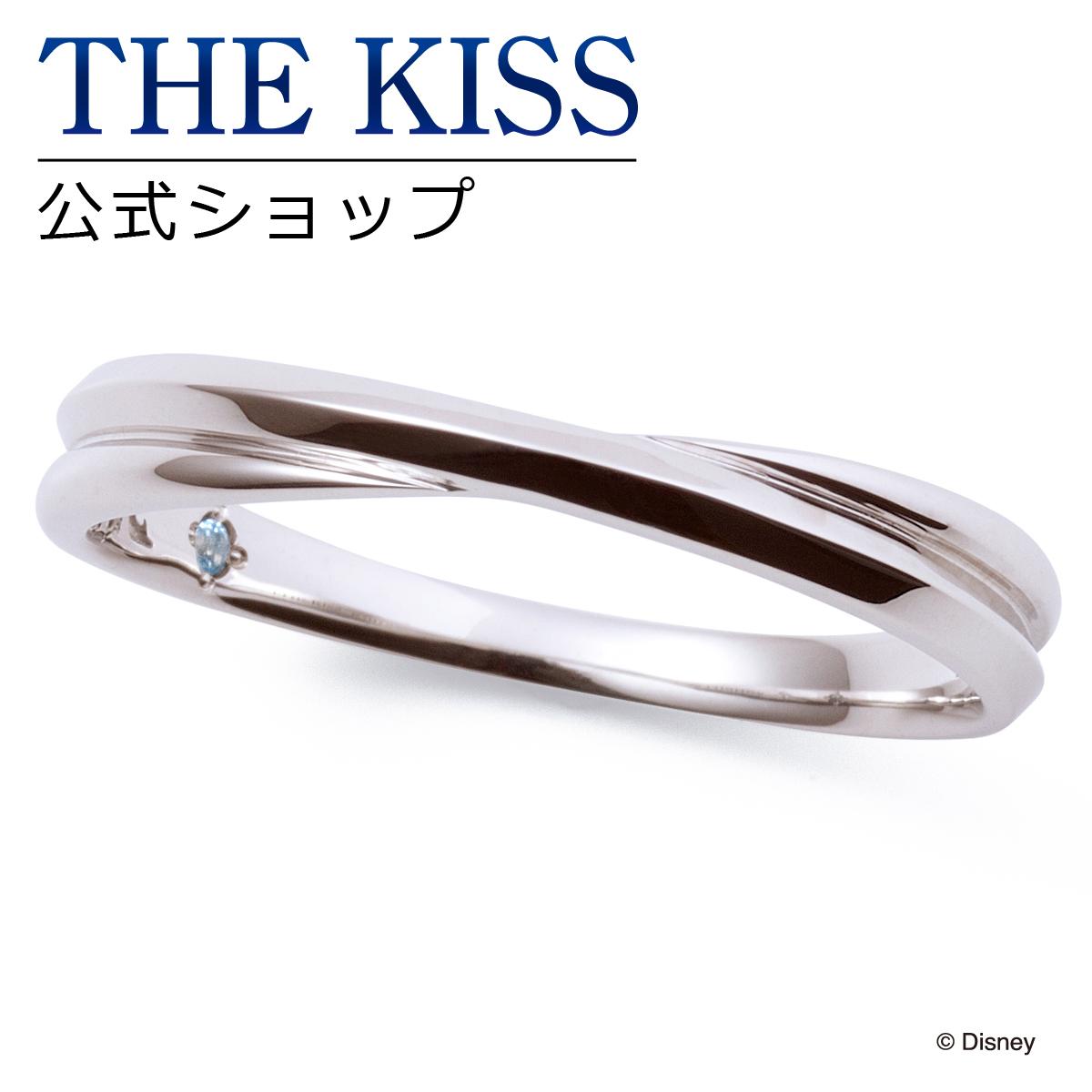 【あす楽対応】【ディズニーコレクション】 ディズニー / ペアリング / ディズニープリンセス シンデレラ / THE KISS sweets リング・指輪 K10ホワイトゴールド (メンズ 単品) DI-WR2920BT ザキス 【送料無料】【Disneyzone】