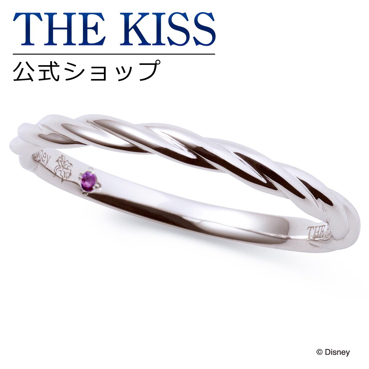 【あす楽対応】【ディズニーコレクション】 ディズニー / ペアリング / ディズニープリンセス ラプンツェル / THE KISS sweets リング・指輪 K10ホワイトゴールド (メンズ 単品) DI-WR2922AM ザキス 【送料無料】