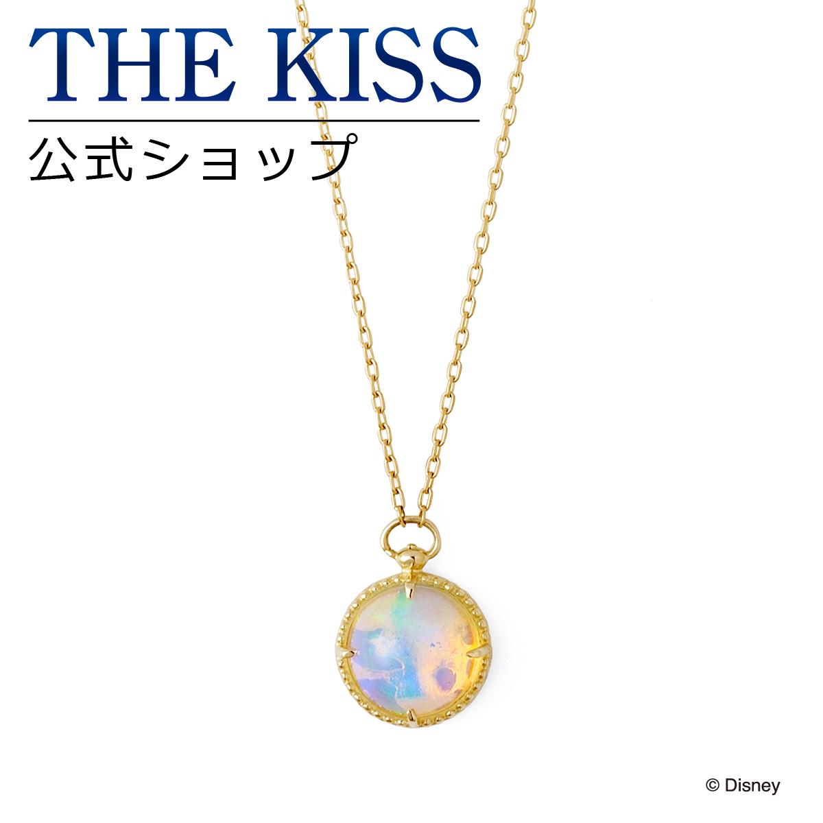 【あす楽対応】【ディズニーコレクション】 ディズニー / ネックレス / 映画「Alice in Wonderland2」 / THE KISS ネックレス・ペンダント K10 ピンクゴールド オパール (レディース) DI-YN1900OP ザキス 【送料無料】