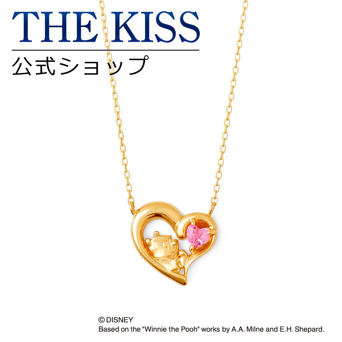 【あす楽対応】【ディズニーコレクション】 ディズニー / ネックレス / くまのプーさん / THE KISS ネックレス・ペンダント K10 イエローゴールド ダイヤモンド (レディース) DI-YN2702PT ザキス 【送料無料】【Disneyzone】