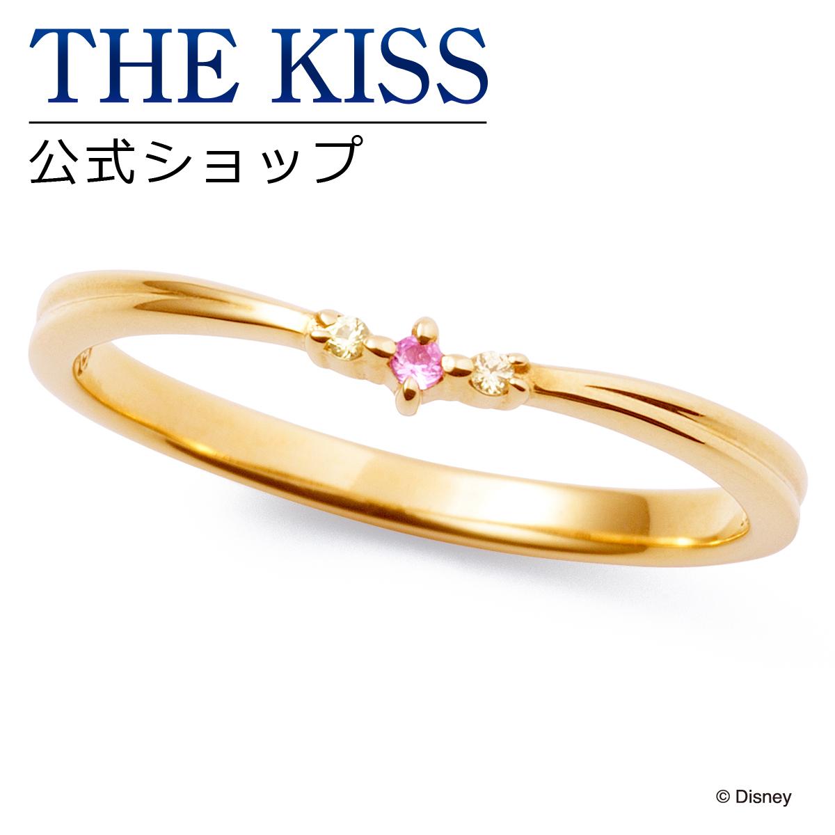 【あす楽対応】【ディズニーコレクション】 ディズニー / ペアリング / ディズニープリンセス ベル / THE KISS sweets リング・指輪 K10イエローゴールド (レディース 単品) DI-YR2700PSP ザキス 【送料無料】