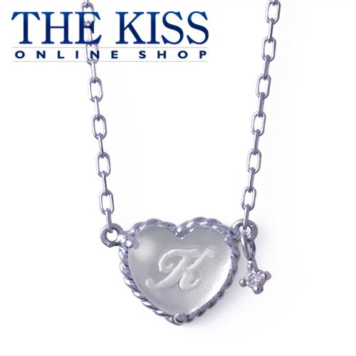 【代引不可】【送料無料】【THE KISS sweets】 イニシャルオーダーネックレス(ハート型、誕生石)40cm ☆ 誕生石 ゴールド レディース イニシャル ネックレス 首飾り ブランド Birthday stone GOLD Ladies Initial order Necklace