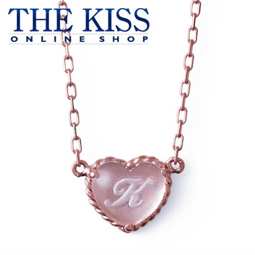 【代引不可】【送料無料】【THE KISS sweets】 イニシャルオーダーネックレス(ハート型)40cm ☆ ゴールド レディース イニシャル ネックレス 首飾り ブランド GOLD Ladies Initial order Necklace