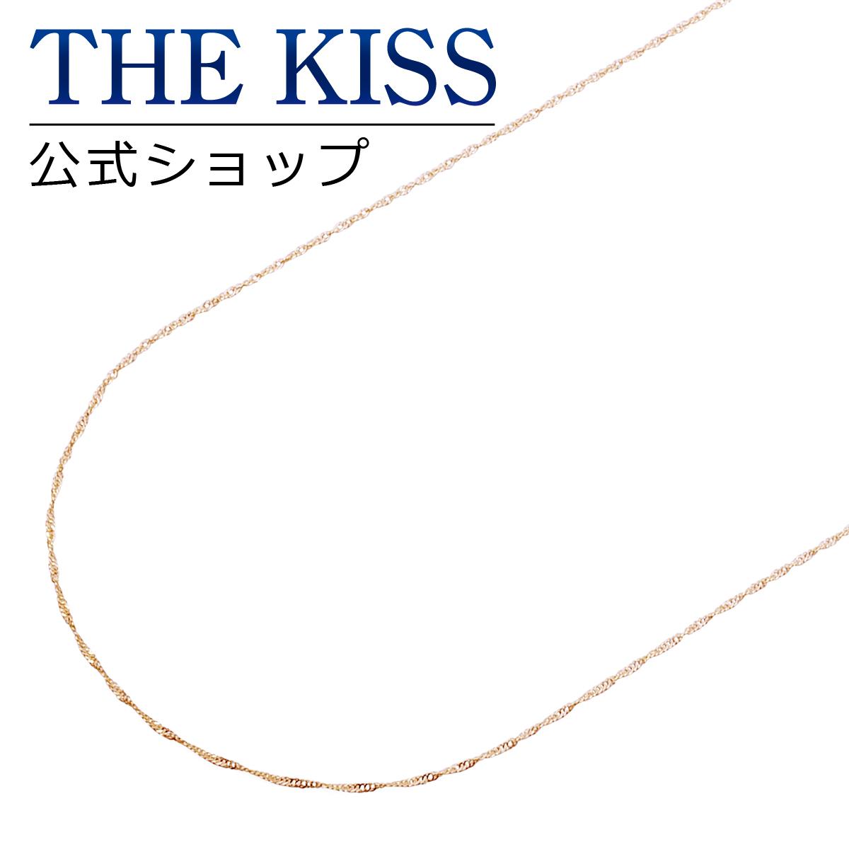 【あす楽対応】【送料無料】【THE KISS sweets】K10ピンクゴールド チェーン 45cm☆