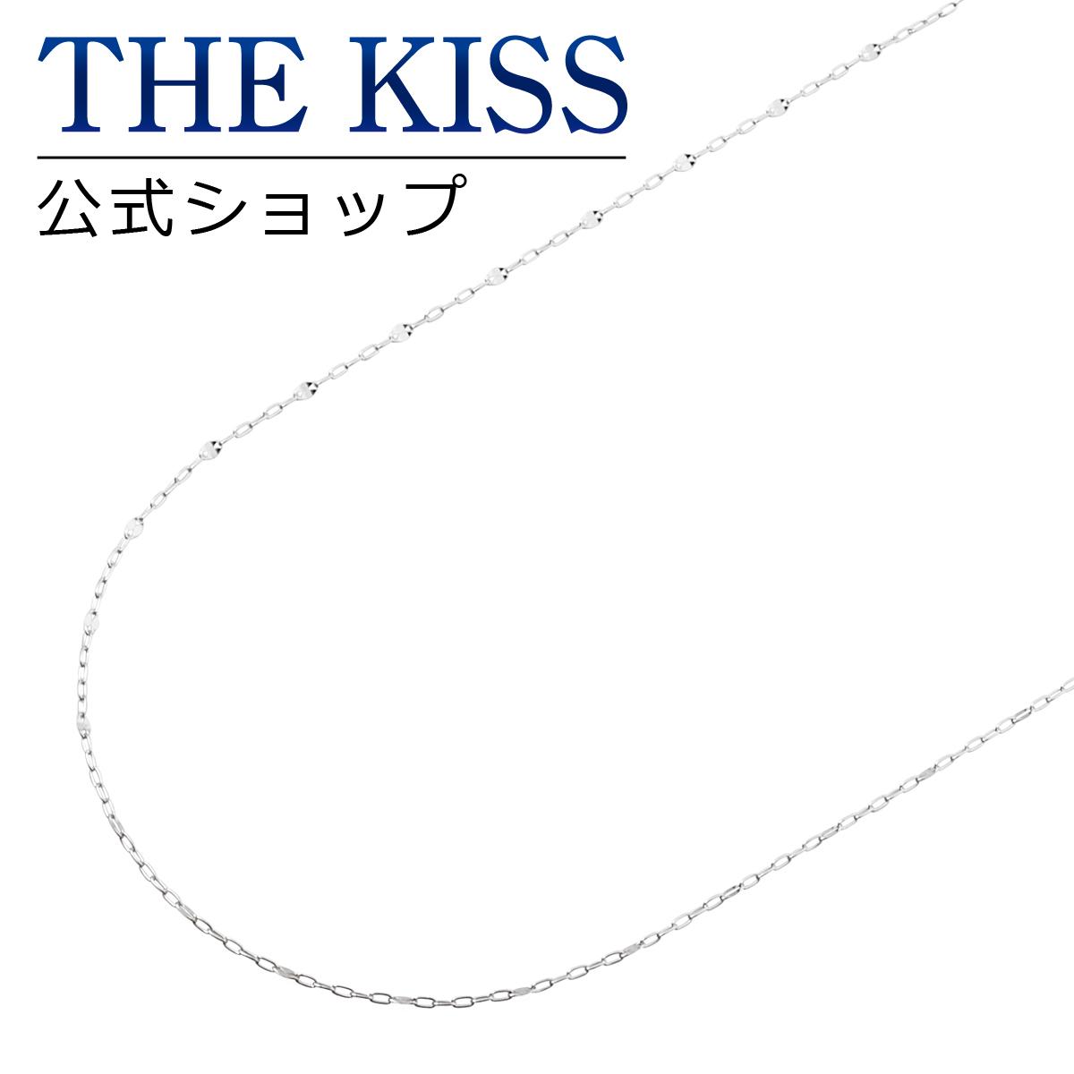 【あす楽対応】【送料無料】【THE KISS sweets】K10ホワイトゴールド チェーン 40cm☆