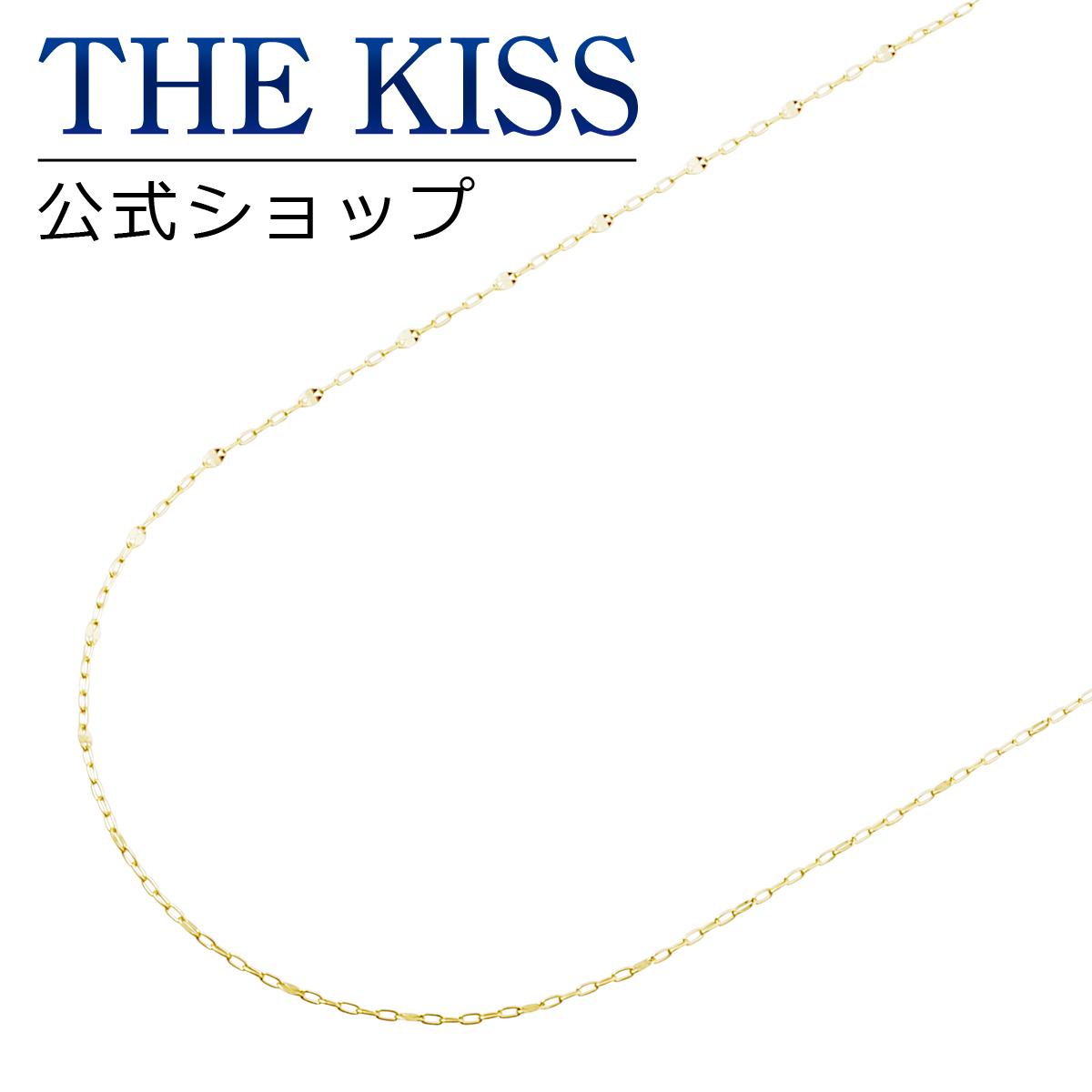 【あす楽対応】【送料無料】【THE KISS sweets】K10イエローゴールド チェーン 40cm☆
