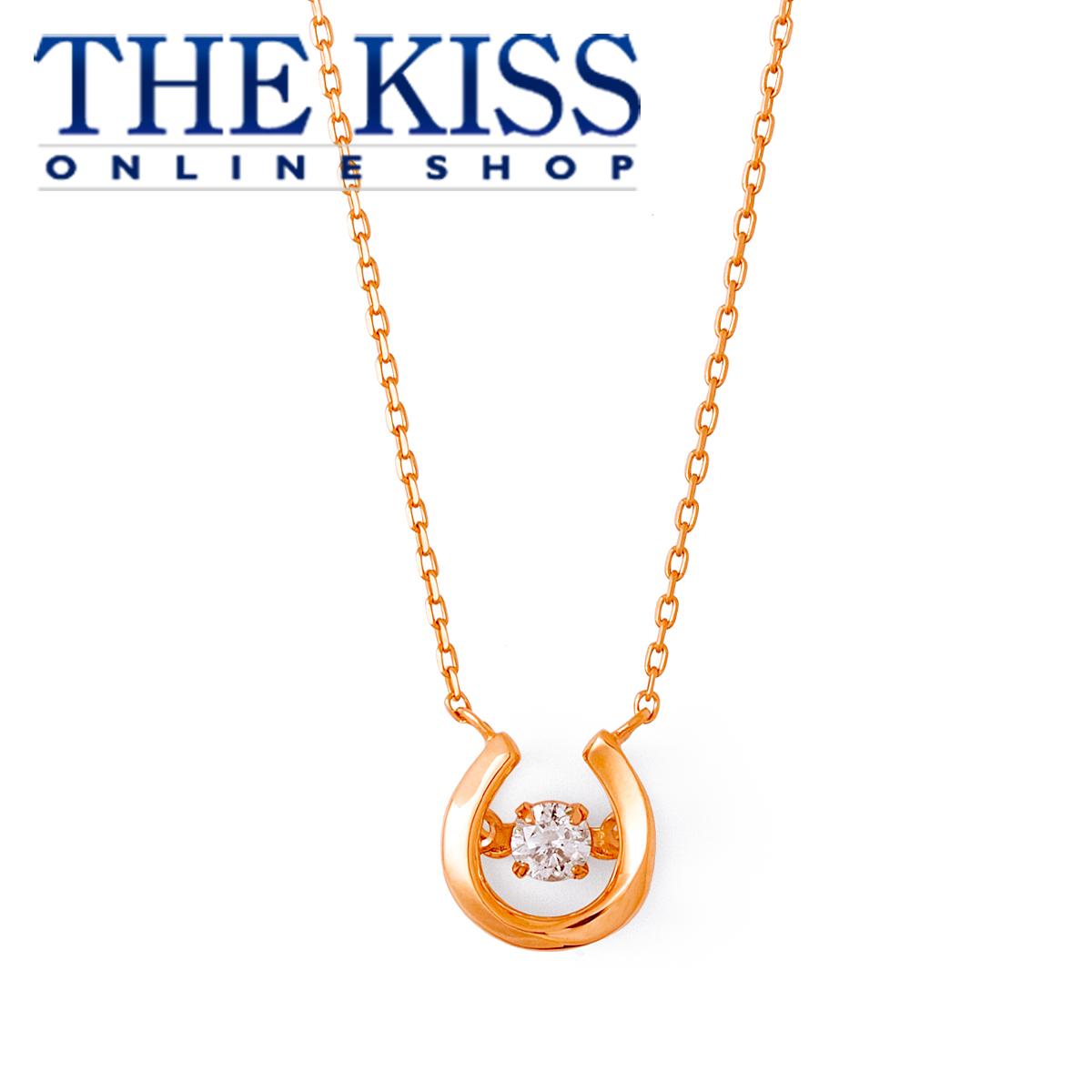 【あす楽対応】ダンシングストーン Dancing Stone 【Twinkling】【送料無料】【THE KISS sweets】 K10ピンクゴールド ダイヤモンド レディース ネックレス 40cm ☆ ダイヤモンド ゴールド レディース ネックレス 首飾り ブランド Ladies Necklace
