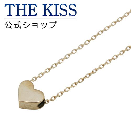 【あす楽対応】【送料無料】【THE KISS sweets】 K10イエローゴールド レディース ネックレス 40cm ☆ ゴールド レディース ネックレス 首飾り ブランド Ladies Necklace K-N600YG