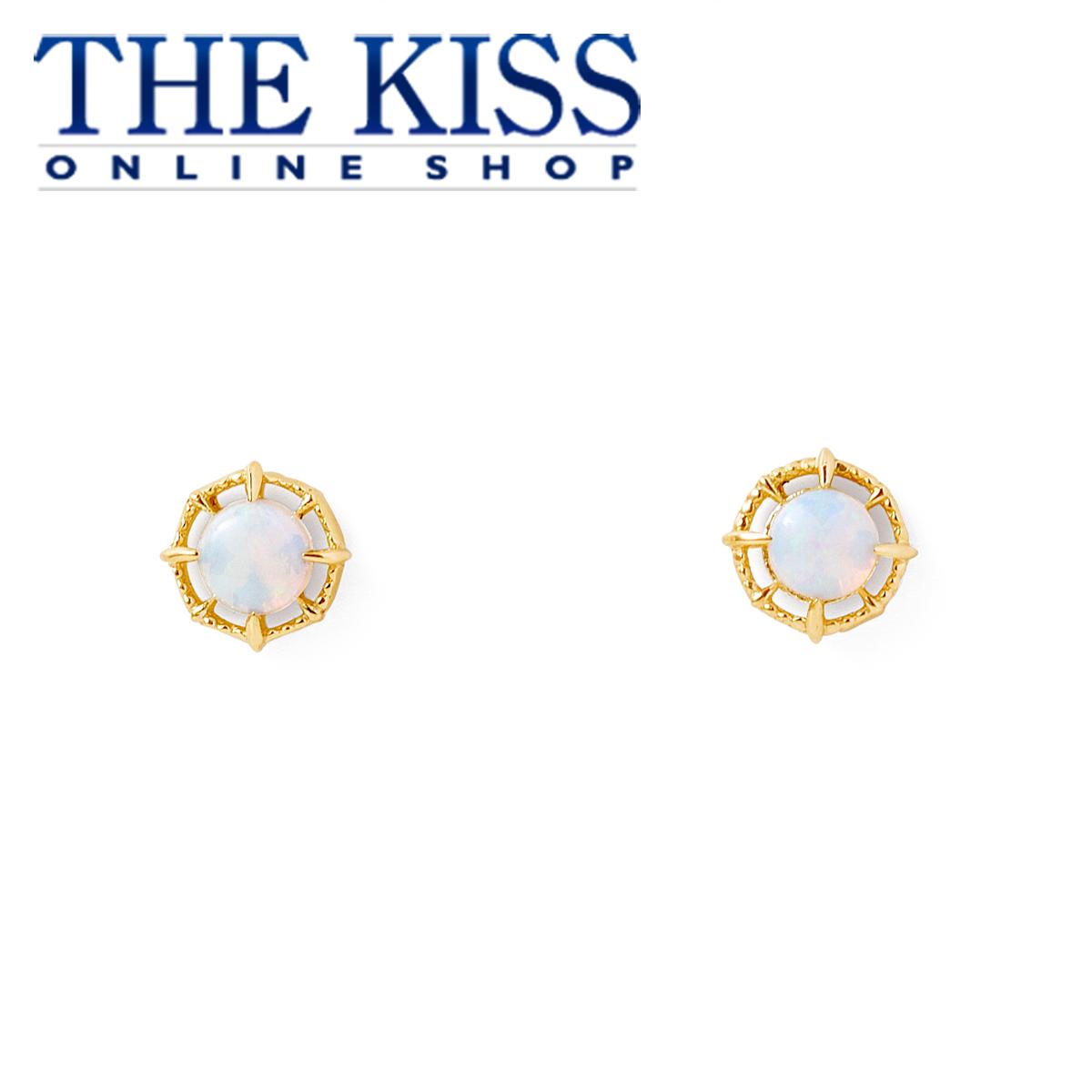 【あす楽対応】【送料無料】【THE KISS sweets】 K10イエローゴールド レディース ピアス ☆ オパール ゴールド レディース ピアス ブランド GOLD Ladies Pierce