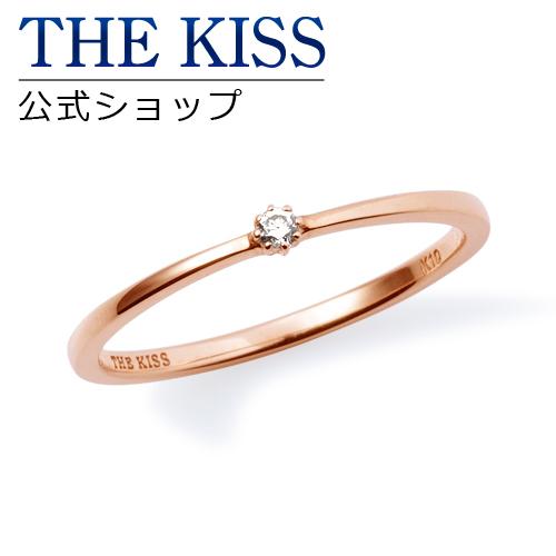 【あす楽対応】【送料無料】【THE KISS sweets】 K10ピンクゴールド ダイヤモンド レディース ピンキーリング ☆ ゴールド レディース リング 指輪 ブランド GOLD Ladies Ring