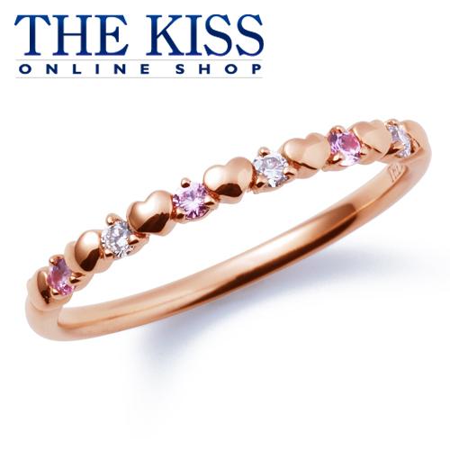 【あす楽対応】【送料無料】【THE KISS sweets】 K10ピンクゴールド ダイヤモンド ピンクサファイア レディース リング ☆ ダイヤモンド ゴールド レディース リング 指輪 ブランド Diamond GOLD Ladies Ring