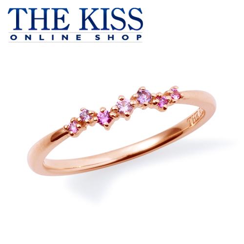 【あす楽対応】【送料無料】【THE KISS sweets】 K10ピンクゴールド ピンクサファイア レディース ピンキーリング ☆ ゴールド レディース リング 指輪 ブランド GOLD Ladies Ring